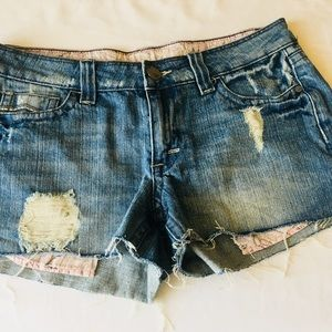 Pants - Industrial Cotton Jean Ripped Cutoff Jean Shorts